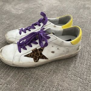 Golden Goose Superstar Leather Sneakers NWT